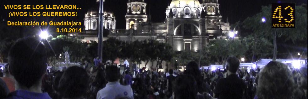 Declaración de GDL sobre caso Ayotzinapa