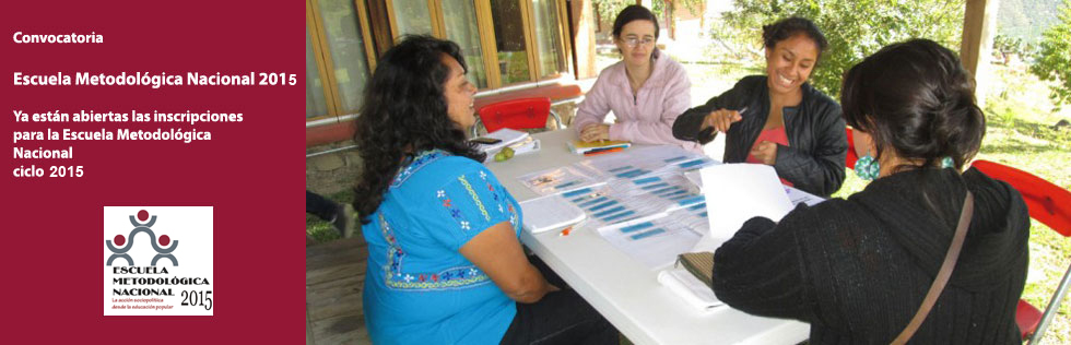 Convocatoria Escuela Metodológica Nacional 2015
