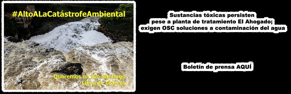 Rueda Prensa: Alto a la Catástrofe Ecológica del Río Santiago