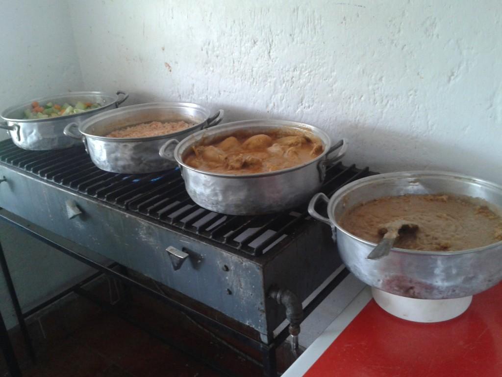 Cocina para preparación de alimentos