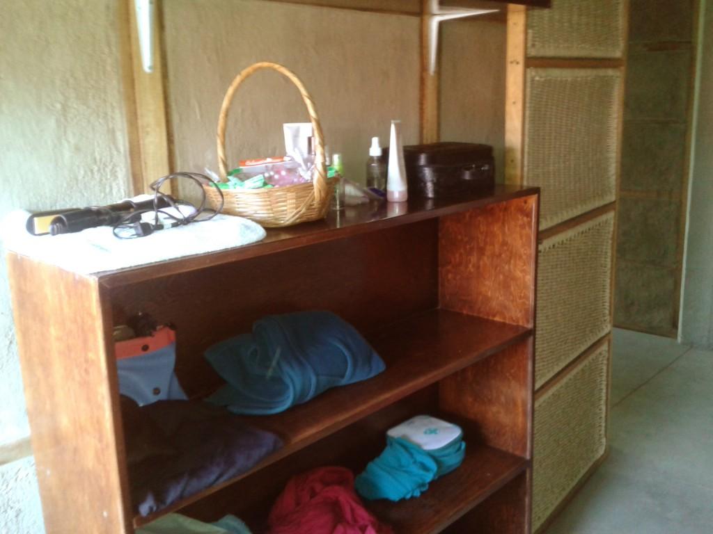 Mueble para colocar objetos personales